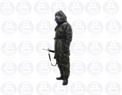 Bộ quần áo bảo vệ chống bức xạ và phóng xạ