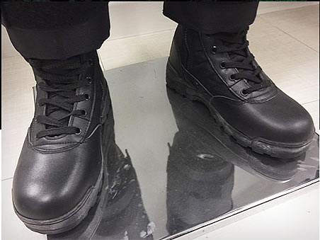 Giày da chiến thuật